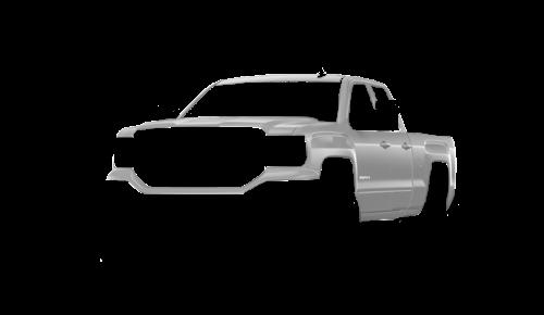 Цвета кузова Sierra Double Cab