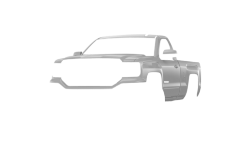 Цвета кузова Sierra Regular Cab
